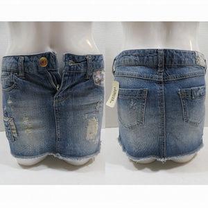 Forever 21 skirt Small NWT distressed denim tribal